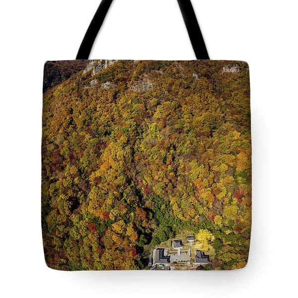 Temple In The Valley 2 Tote Bag