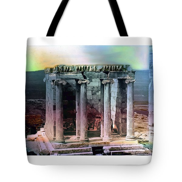 Temple Of Athena Tote Bag