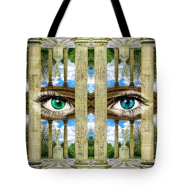 Temple Of Love Petit Trianon Versailles Palace Paris Tote Bag