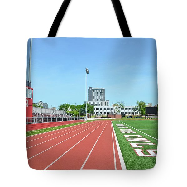 Temple Owls - Dan And Shelley Boyce Track Tote Bag by Bill Cannon