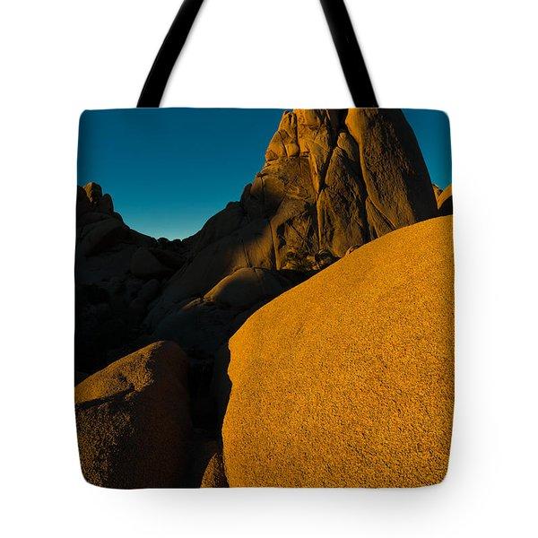 Temple Rock, Joshua Tree, Sunrise Tote Bag