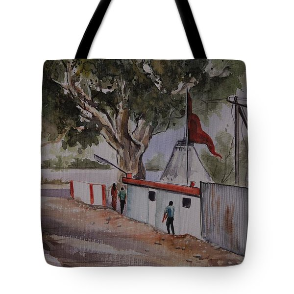 Temple Scene1 Tote Bag