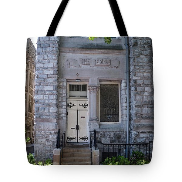 Temple University - The Temple Tote Bag by Bill Cannon