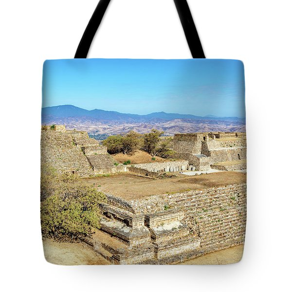Temples In Monte Alban Tote Bag