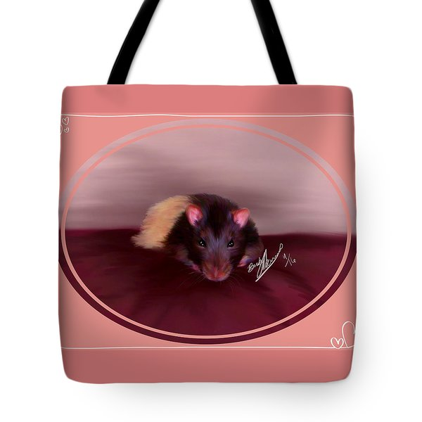 Templeton The Pet Fancy Rat Tote Bag