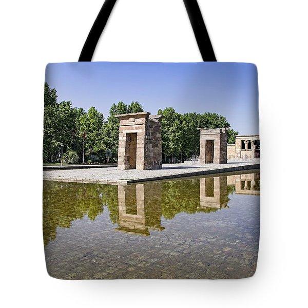 Templo De Debod Tote Bag by Ross G Strachan