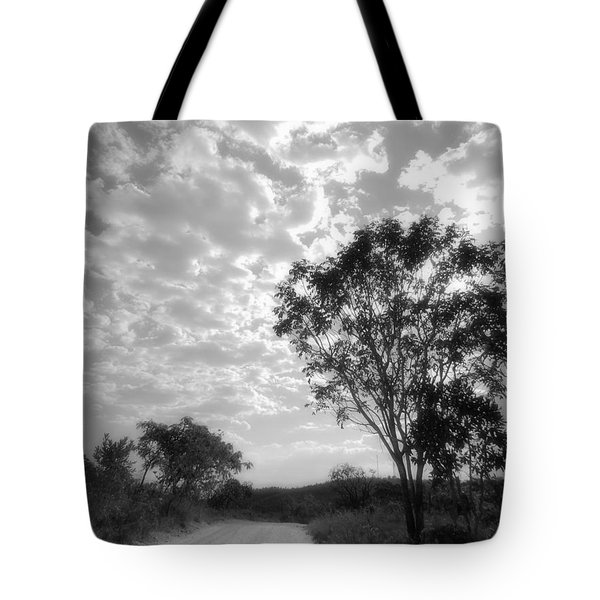 Temporary Clouds Tote Bag
