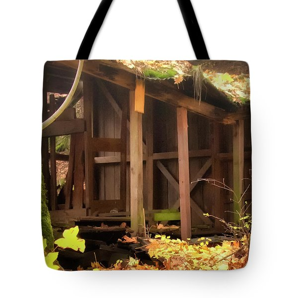 Temporary Shelter Tote Bag by Albert Seger