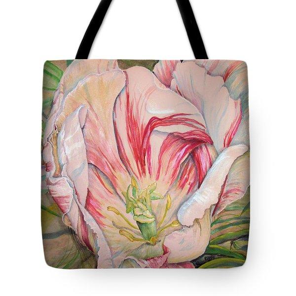 Tempting  Tulip Tote Bag
