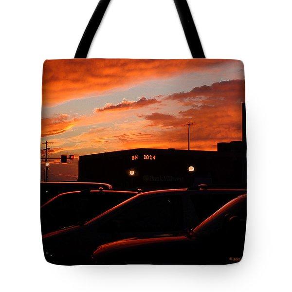 Ten Fourteen P.m. Tote Bag