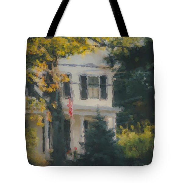 Ten Lincoln Street, Easton, Ma Tote Bag