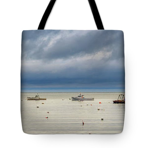 Tote Bag featuring the photograph Tenants Harbor by Rick Berk