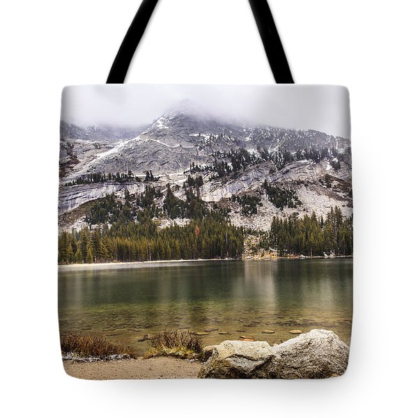 Tenaya Lake Yosemite 2 Tote Bag