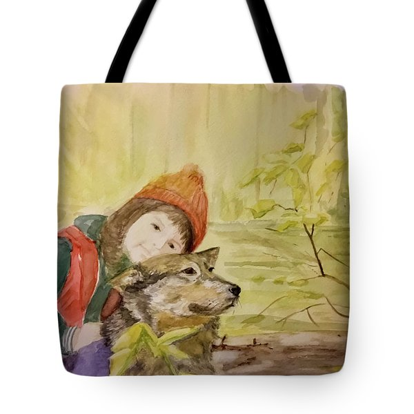 Tender Automn Tote Bag