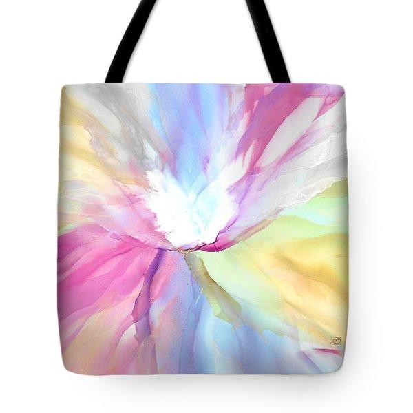 Tender Bloom Tote Bag
