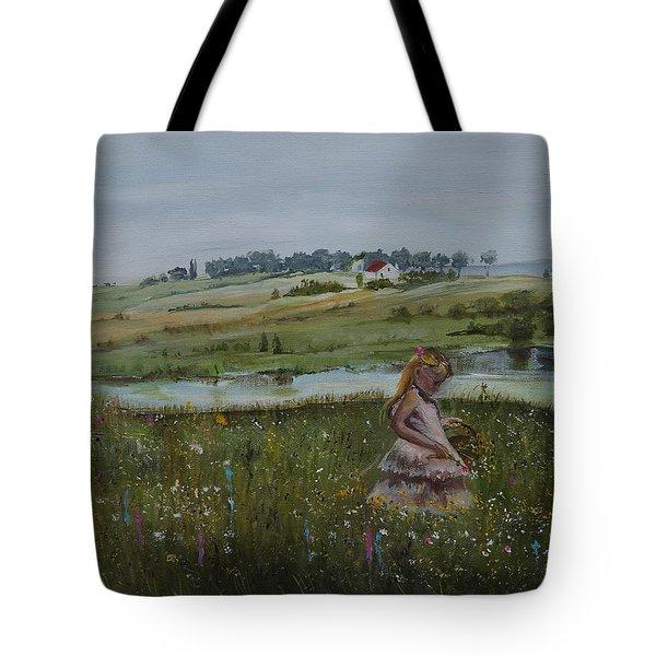 Tender Blossom - Lmj Tote Bag
