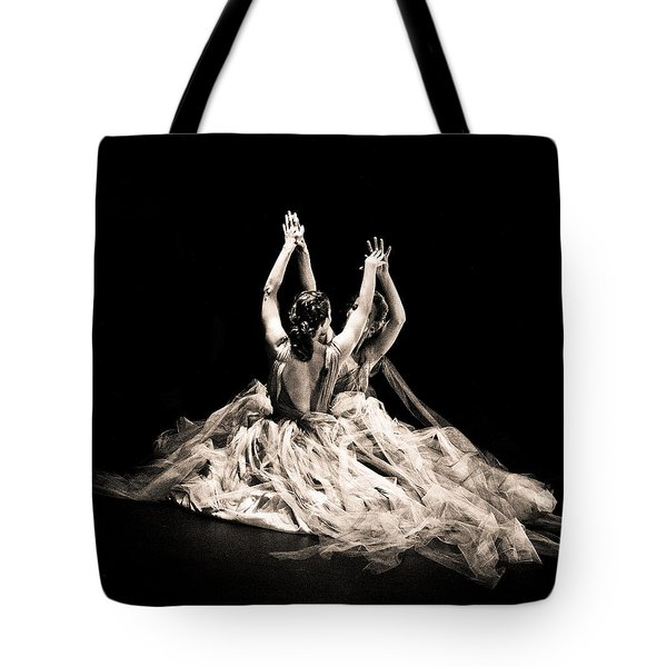 Tender Dance Tote Bag