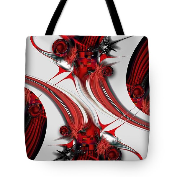 Tender Design - Composition Tote Bag by Carmen Fine Art