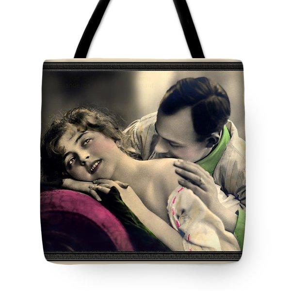 Tender Kisses Tote Bag