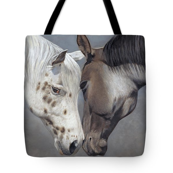 Tote Bag featuring the painting Tender Regard by Tammy Taylor