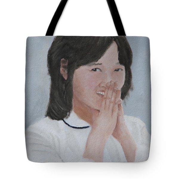 Tender Smile Tote Bag