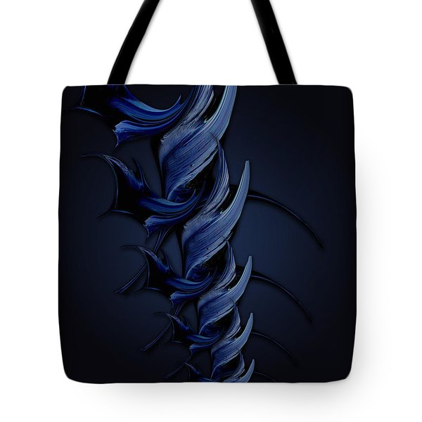 Tender Vision Of Blue Feeling Tote Bag
