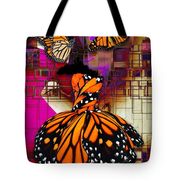 Tote Bag featuring the mixed media Tenderly by Marvin Blaine