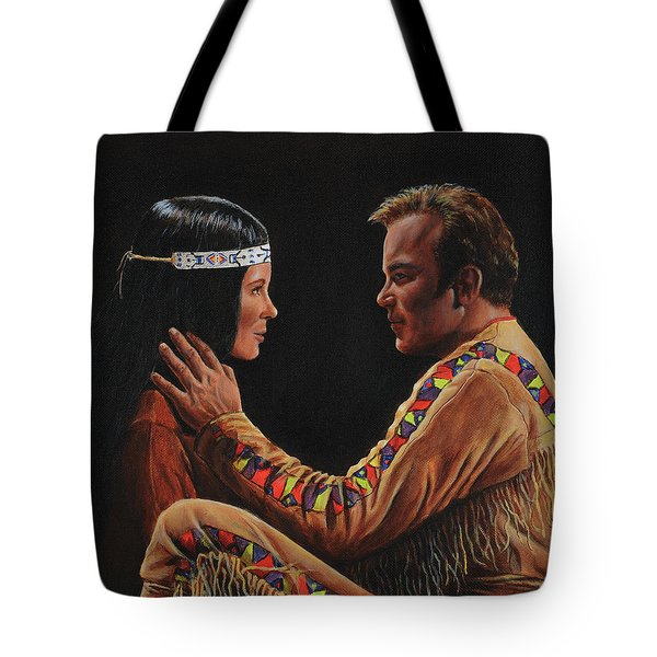 Tenderness In His Touch Tote Bag