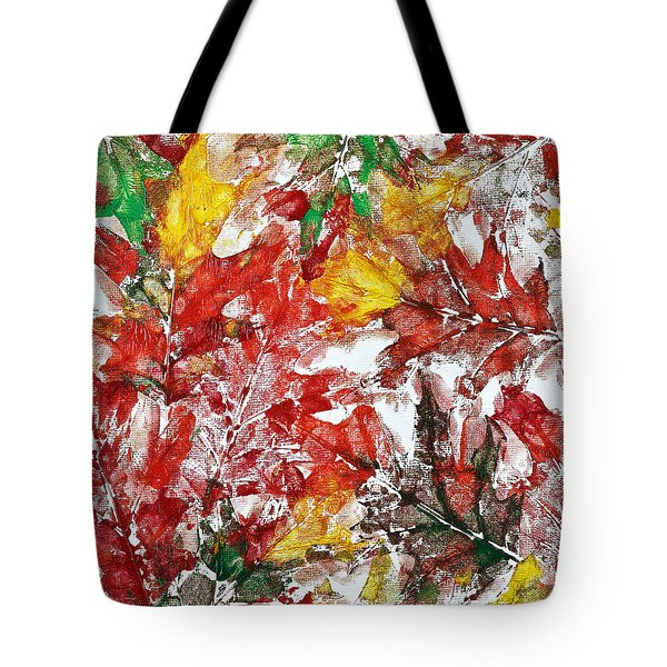 Tenderness Of Autumn Tote Bag