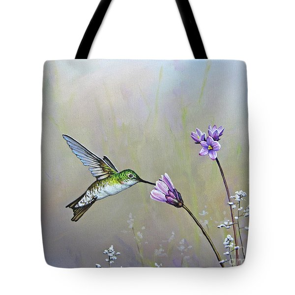 Tending The Garden Tote Bag