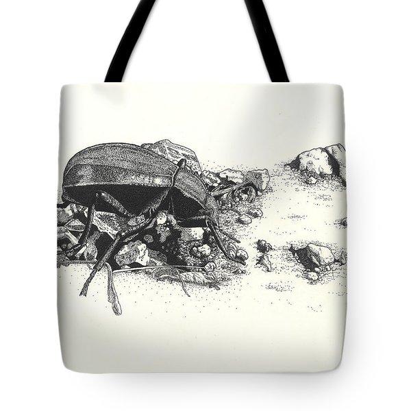 Darkling Beetle Tote Bag