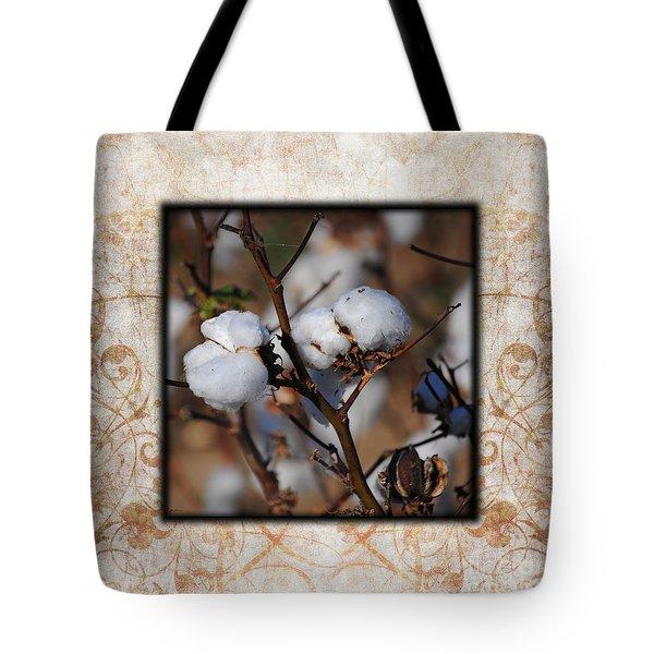 Tennessee Cotton II Photo Square Tote Bag