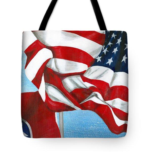 Tennessee Heroes Tote Bag