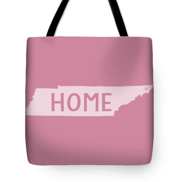 Tote Bag featuring the photograph Tennessee Home White by Heather Applegate