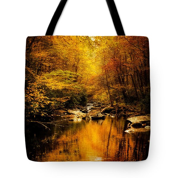 Tennessee Mountains Autumn Tote Bag