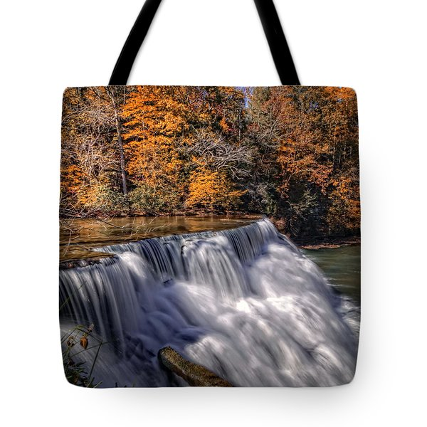 Tennessee Waterfall Tote Bag