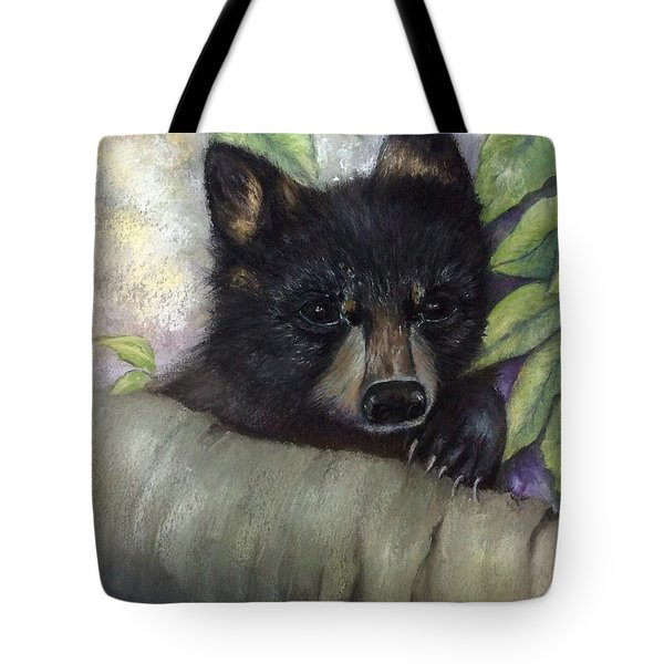 Tennessee Wildlife Black Bear Tote Bag