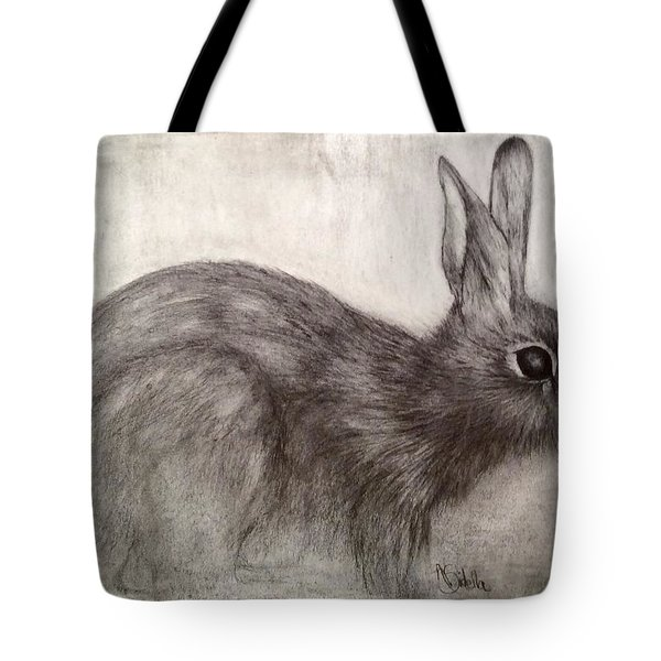 Tennessee Wildlife Cottontail Rabbit Tote Bag