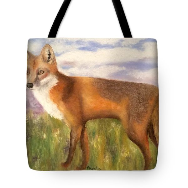 Tennessee Wildlife Red Fox Tote Bag