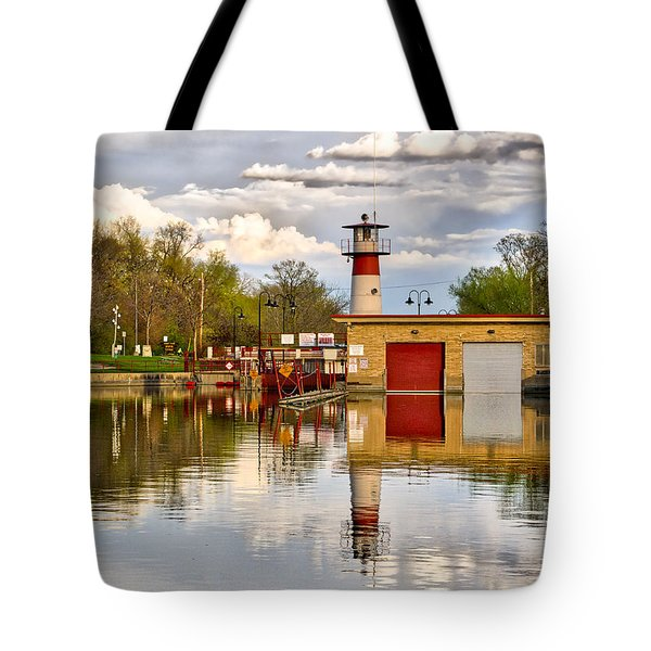 Tenney Lock - Madison - Wisconsin Tote Bag