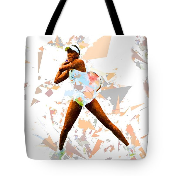 Tote Bag featuring the painting Tennis 113 by Movie Poster Prints