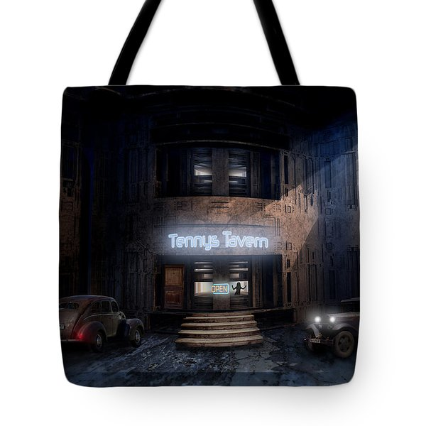 Tenny's Tavern Tote Bag
