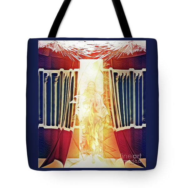 Tote Bag featuring the digital art Tent Of Meeting by Jennifer Page