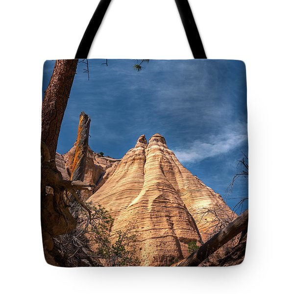 Tent Rock And Ponderosa Pine Tote Bag