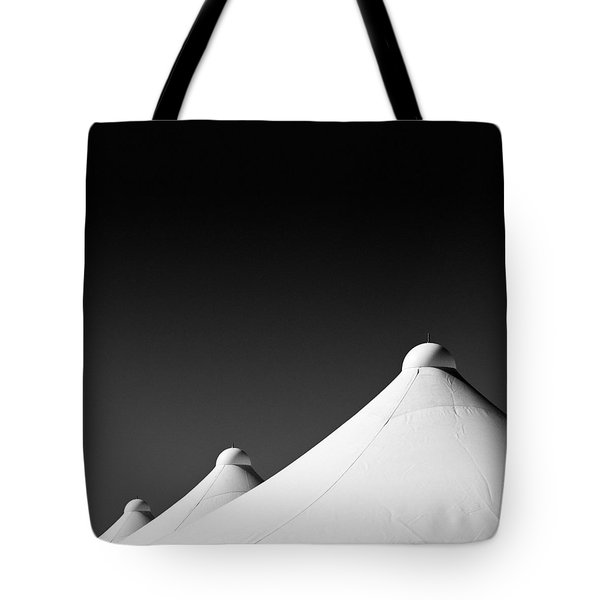 Tent Tops Tote Bag by Dave Bowman
