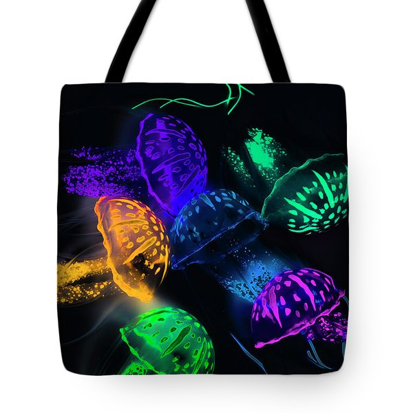 Tentacle Dance  Tote Bag