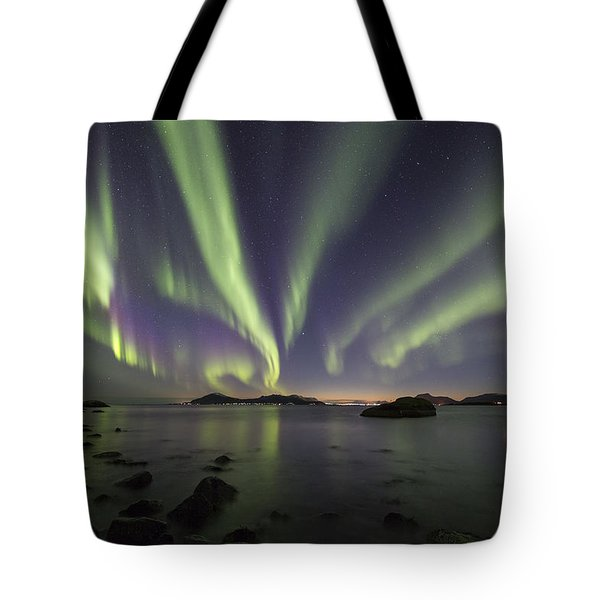 Tentacles In The Sky Tote Bag