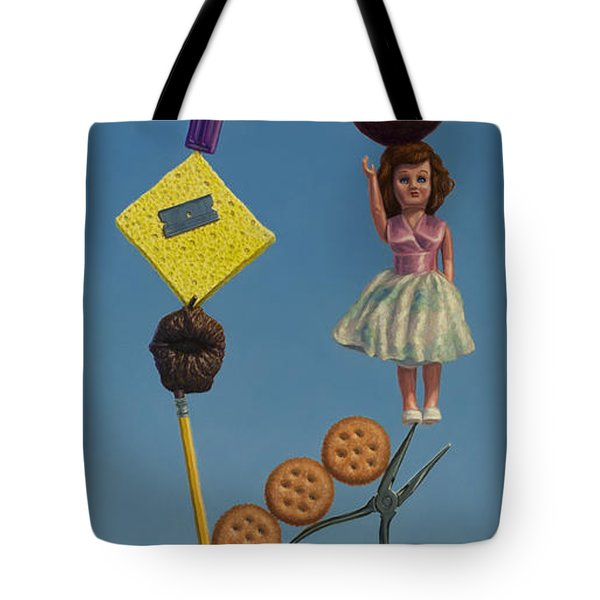 Tenuous Still-life 2 Tote Bag by James W Johnson