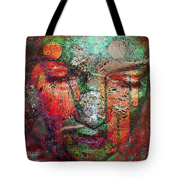 Tenuous-the Masculine And The Feminine Tote Bag