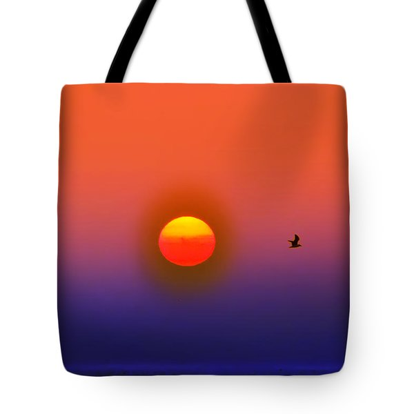 Tequila Sunrise Tote Bag by Bill Cannon